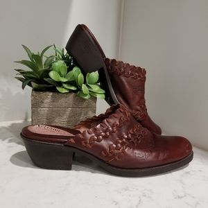 🥿CLARKS ARTISAN LEATHER MULES